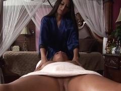 Fabulous pornstar in Hottest Lesbian, Massage sex clip