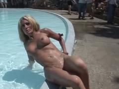 Best pornstar in hottest blonde, outdoor adult scene