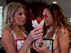 Incredible pornstar Fiona Rivers in Best Big Tits, Cunnilingus porn movie
