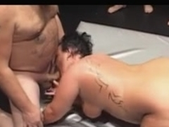 Shorthair-big beautiful woman Group-Sex 1
