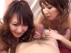 Fabulous Japanese model Ryo Kiyohara in Best Stockings/Pansuto, Threesomes JAV video