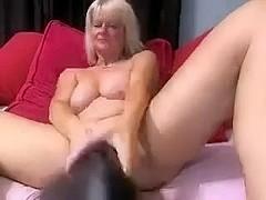 tits pussy masturbation big dildo