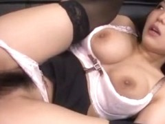 Incredible Japanese slut Kokoro Maki in Exotic Lingerie, Office JAV video
