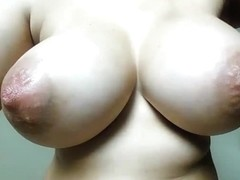 Huge Pointy Tits On This Webcam Girl