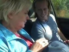 Granny acquires nailed by a stranger