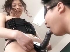 Oriental Femdom Cuckold Knob Sex