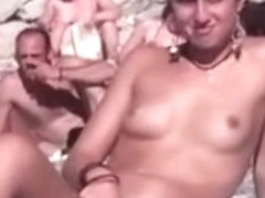 scratching pussy in public