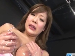 Hiyoko Morinaga big tits babe fucked in rough manners - More at javhd.net