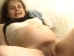 preggo wife acquires her curly snatch eaten