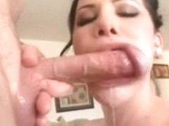 Striking Legal Age Teenager Jerking Off and Blowing a Pair of Weenies
