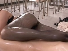 Fabulous Japanese whore in Best Stockings, HD JAV video
