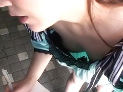 Another fantastic downblouse video of a hot Asian