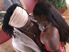 Ariel Alexis Enjoys Big Black Dick