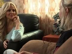 Brea Bennett & Julia Ann in Lesbian PsychoDramas #02, Scene #01