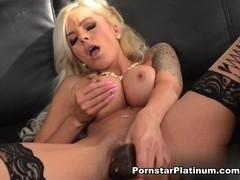 Nina Elle in Deep Dildo Plunging