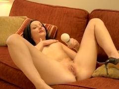 Horny European Gets Super Wet When Masturbating to A Real Orgasm