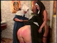 Depraved lesbo nuns S&M style