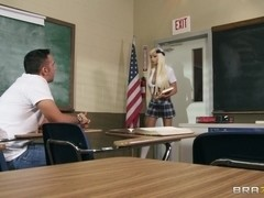 Big Tits at School: Duel Intentions