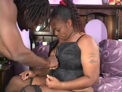 Sexy Thick Ebony Dimples Sucks And Fucks Black Guy