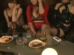 Mature Japanese Mistresses Strap-On Fuck And Dominate A Guy