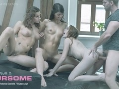 Linda Sweet in Let's Have a Foursome Video