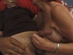 Plump bushy aged wench pressed by a Bbc