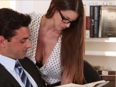 Glamour babe Brooklyn Chase screwed up with handsome man