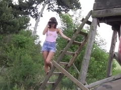 Dutch Teen Mouth Spunked