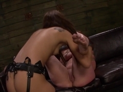 Exotic pornstars Autumn Kline, Esmi Lee in Hottest Big Ass, BDSM xxx scene