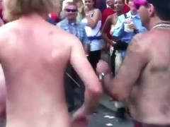 Naked dance party in the streets keeps growing
