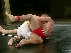 NakedKombat Cameron Adams vs Gianni Luca