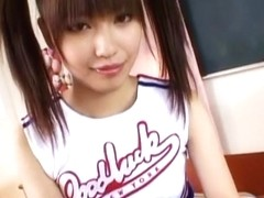 Best Japanese chick Miyuki Yokoyama in Fabulous Cunnilingus, Cheerleaders JAV movie