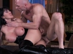 Busty Eva Karera and Johnny Sins screwing hard
