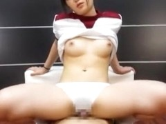 Hottest Japanese girl Nana Usami in Exotic POV JAV video