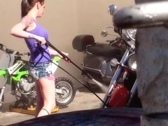 Ashton Pierce - Biker Chick Boobnanza