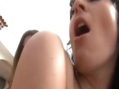 Horny pornstars Katy Caro and Claudia Rossi in incredible outdoor, anal xxx scene