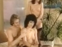 Smoking hot babes nailed during a mad orgy in sauna