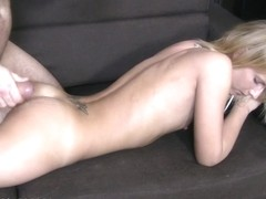 Casting HD Slender blond bonks in auditions