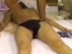 Nice Jap babe gets drilled in a spy cam massage video