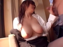 Incredible Japanese model Ramu Hoshino in Hottest Handjob, Big Tits JAV scene