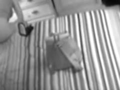 Excited mama caught masturbating on hidden spy web camera