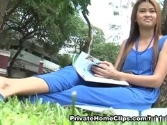 Thai  immature Mon drilled hard