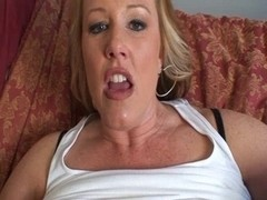 MILF gets her slit ready for big rod