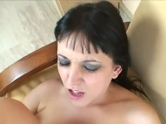 Hot punk bbw getting anal fucked in pov