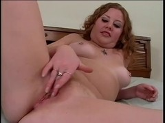 Cherry Poppens Diddles Her Hard Clitoris