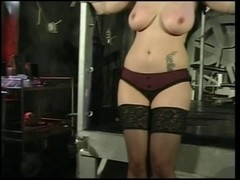 Large bumpers chick receives enjoys a S&M session with her dominant