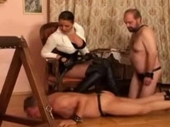 A compilation of mistresses and submissive males