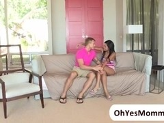 MILF Katt Dylan punishes naughty teens