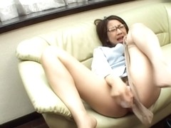 Rina Himekawa Asian doll and dildo penetration