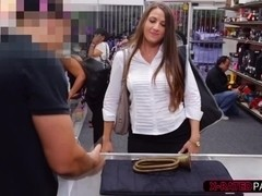 Big tits lady gets fucked in doggystyle